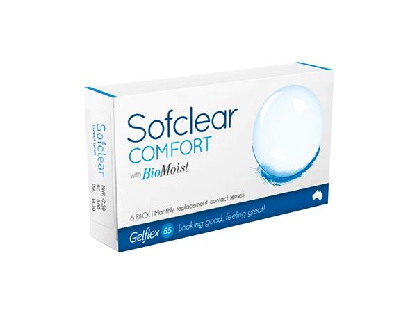 sofclear comfort bio moist